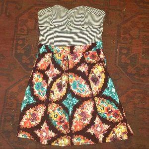 Target strapless dress